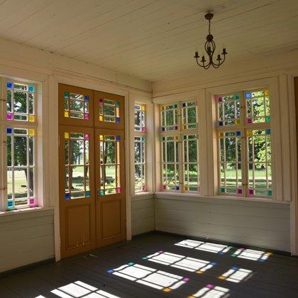 Gārsenes pils veranda
